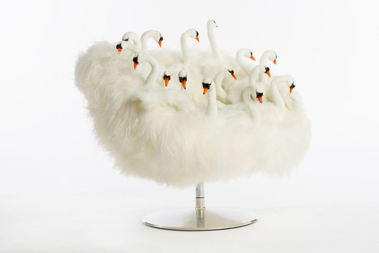 """Fauteuil Cygne """"Swan"""""""