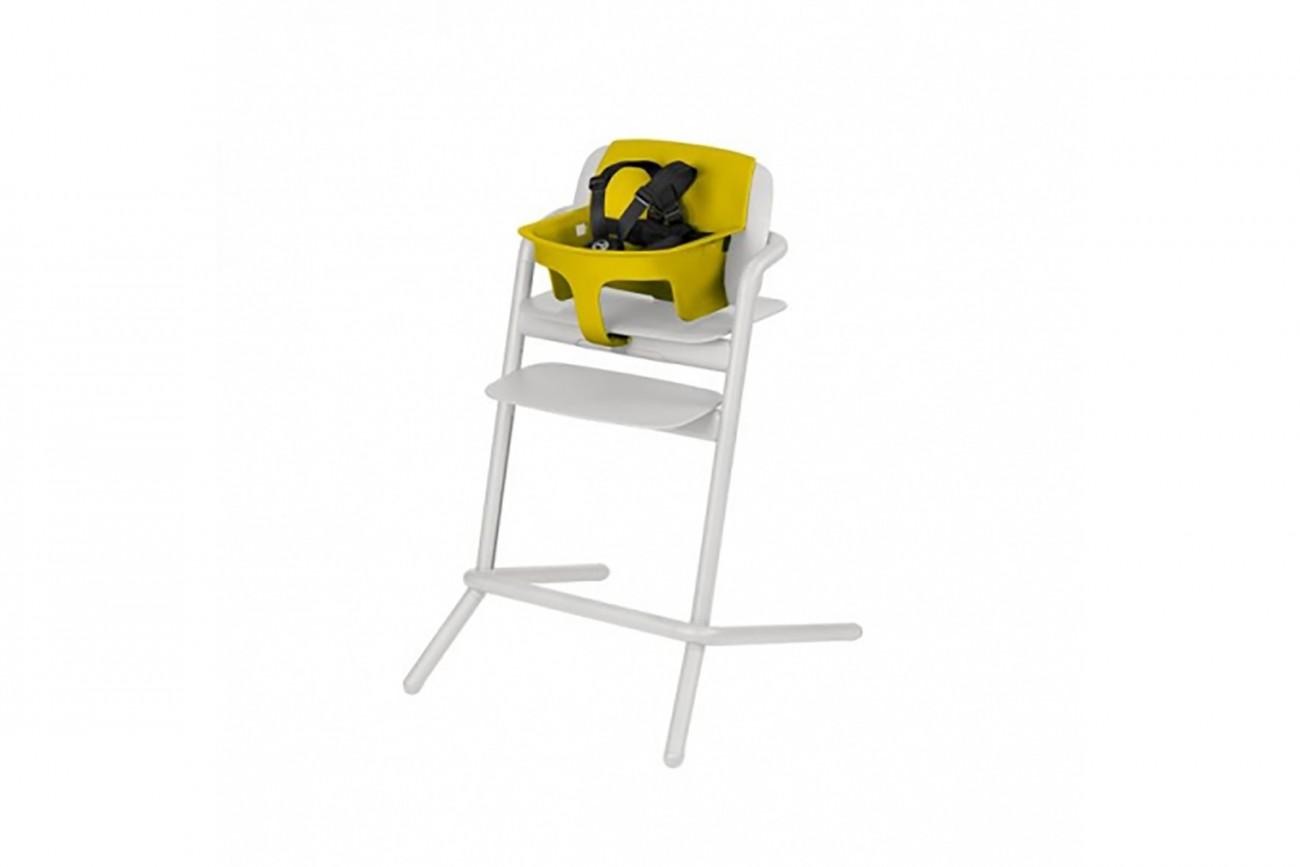Assise Bébé Pour Chaise Lemo Jaune