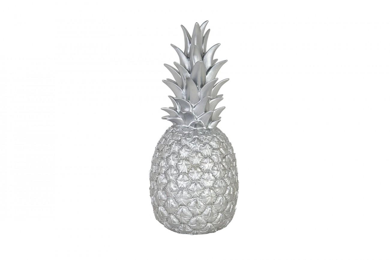 Lampe Ananas Argentée