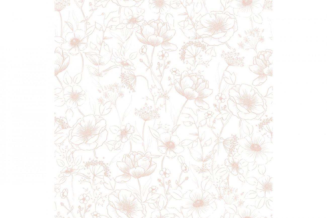 Papier Peint Botany Rose