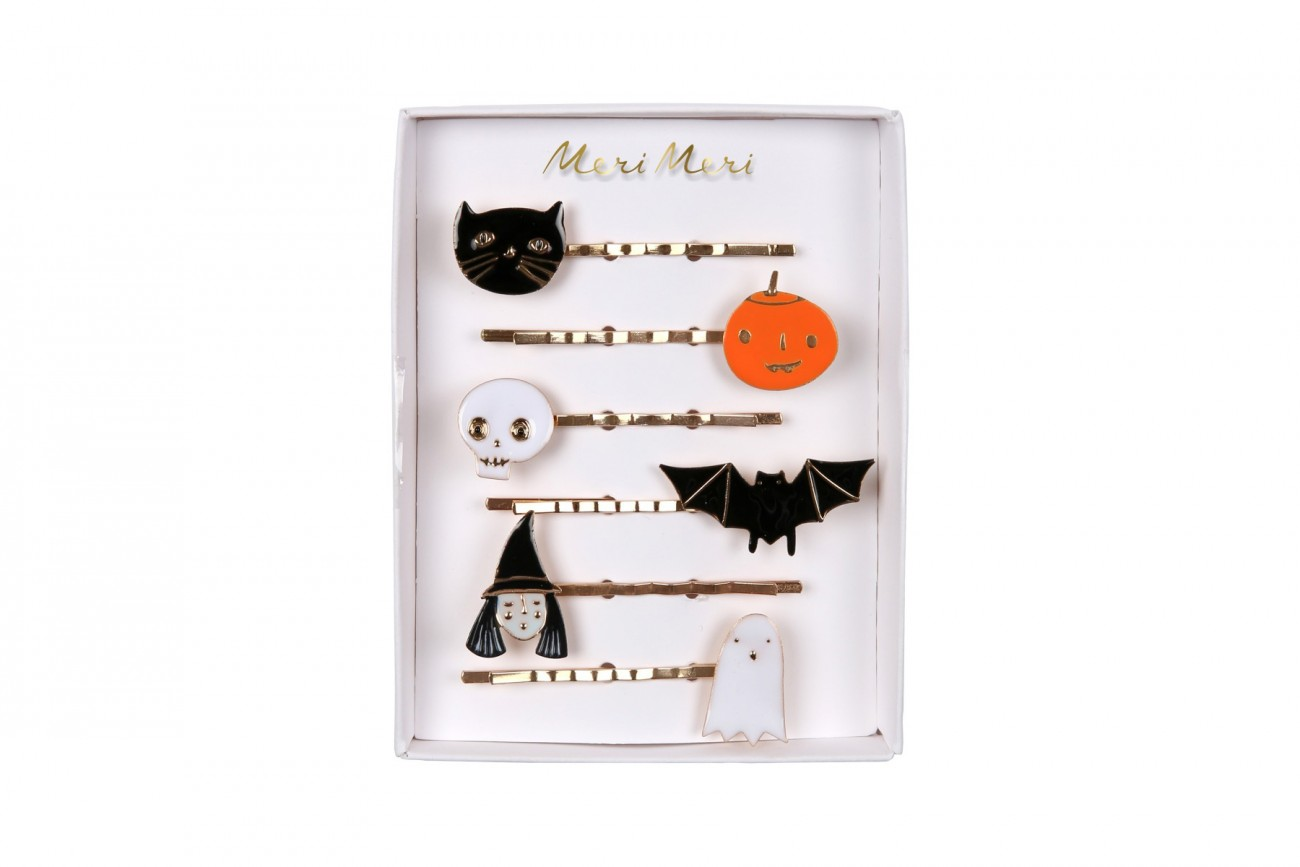 Barrettes En Émail Halloween