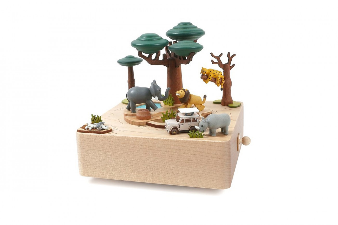 Boîte à musique Safari
