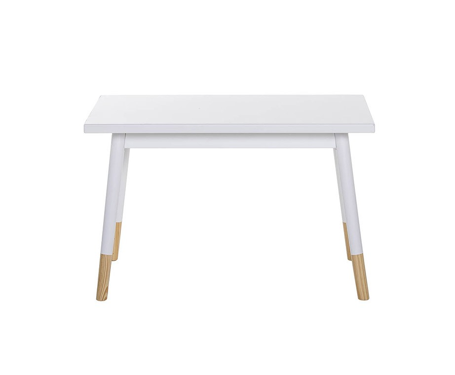 Table Enfant en MDF Blanc