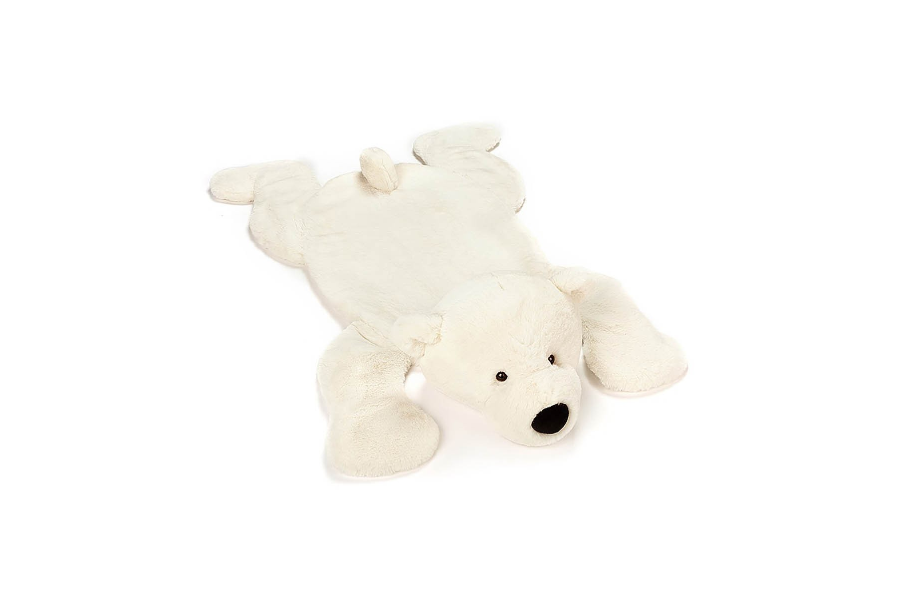 Tapis Blanc Perry L'Ours Polaire