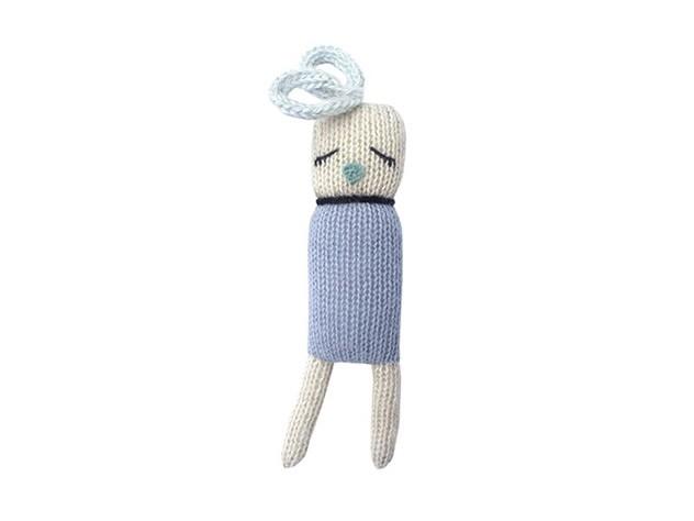Doudou Mini Birdie Blue