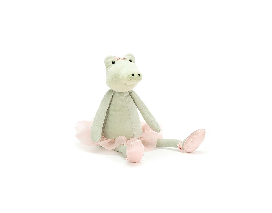 Peluche Dancing Darcey Alligator 33 cm