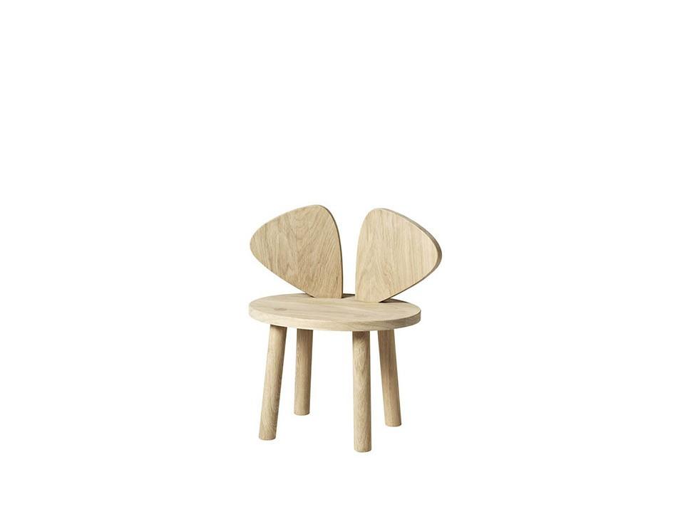 Chaise Mouse Chêne