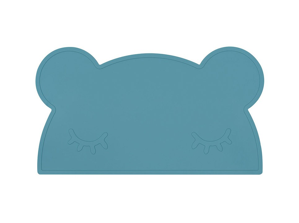 Set de Table Silicone Ours Bleu