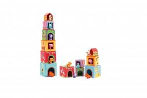 Cubes Topanifarm avec Animaux