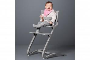 Gris Chaise Chaise Haute Leander Évolutive OPXZiTku