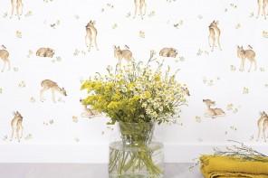 Papier Peint Meadow & Fawn