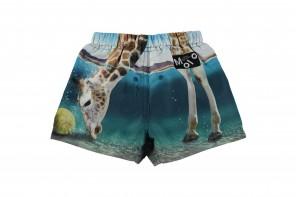 Short De Bain Girafe Taille Elastique