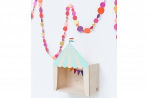 Boîte Circus Mini Big Top Menthe